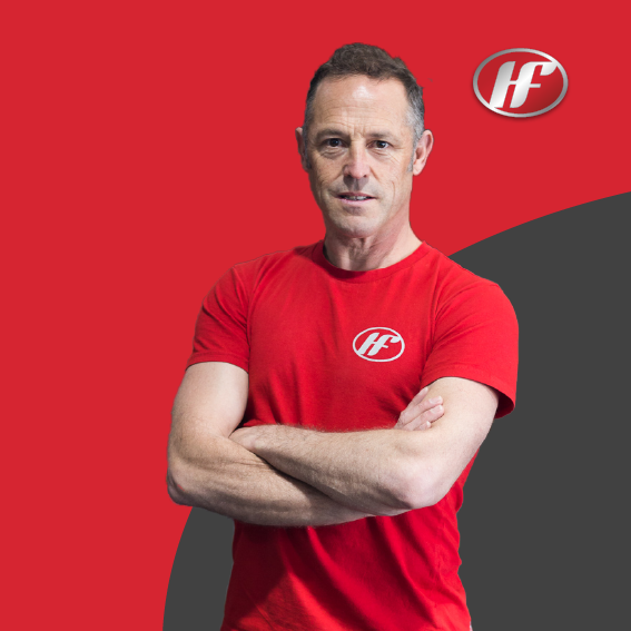 Steve Hurl Personal Trainer and Owner of Hurls Fitness